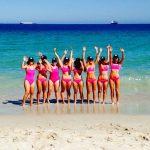 team saba – rottnest channel swim